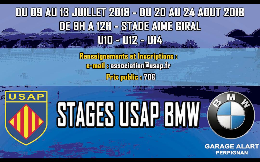 STAGE USAP BMW 2018