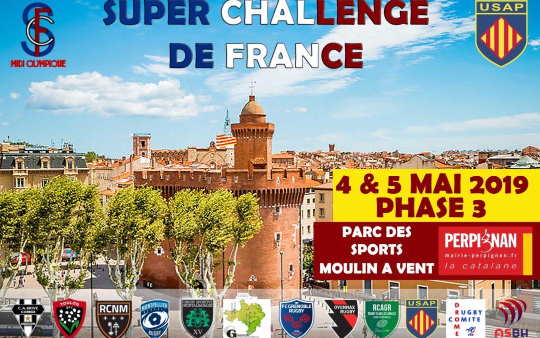 SUPER CHALLENGE DE FRANCE 4 & 5 MAI 2019 A PERPIGNAN
