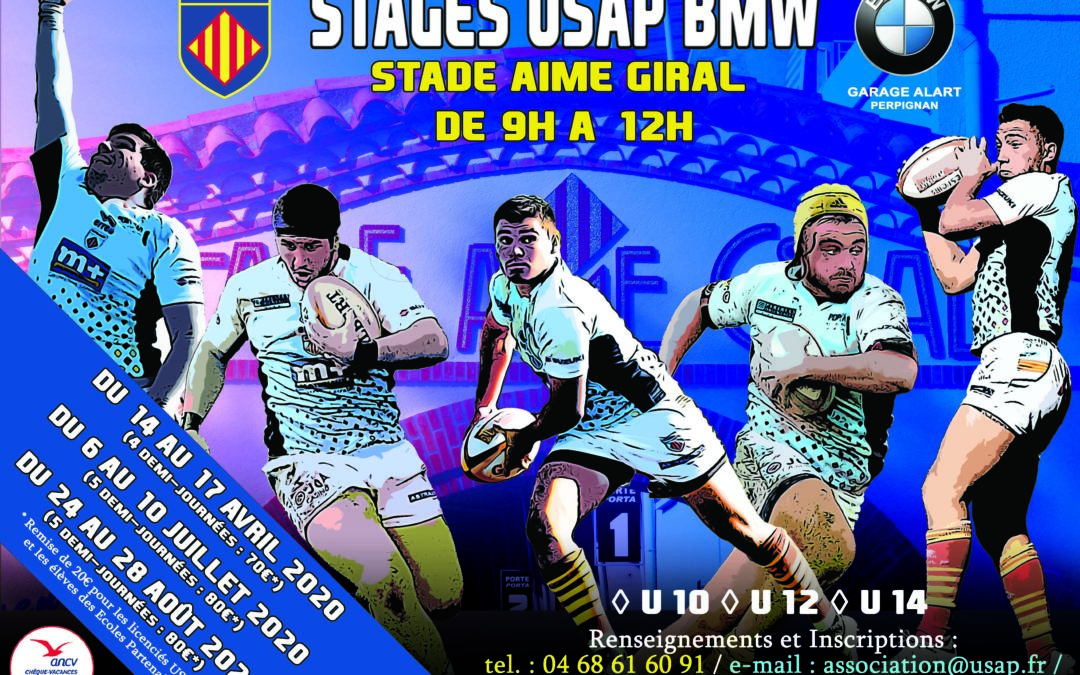 STAGES USAP BMW 2020