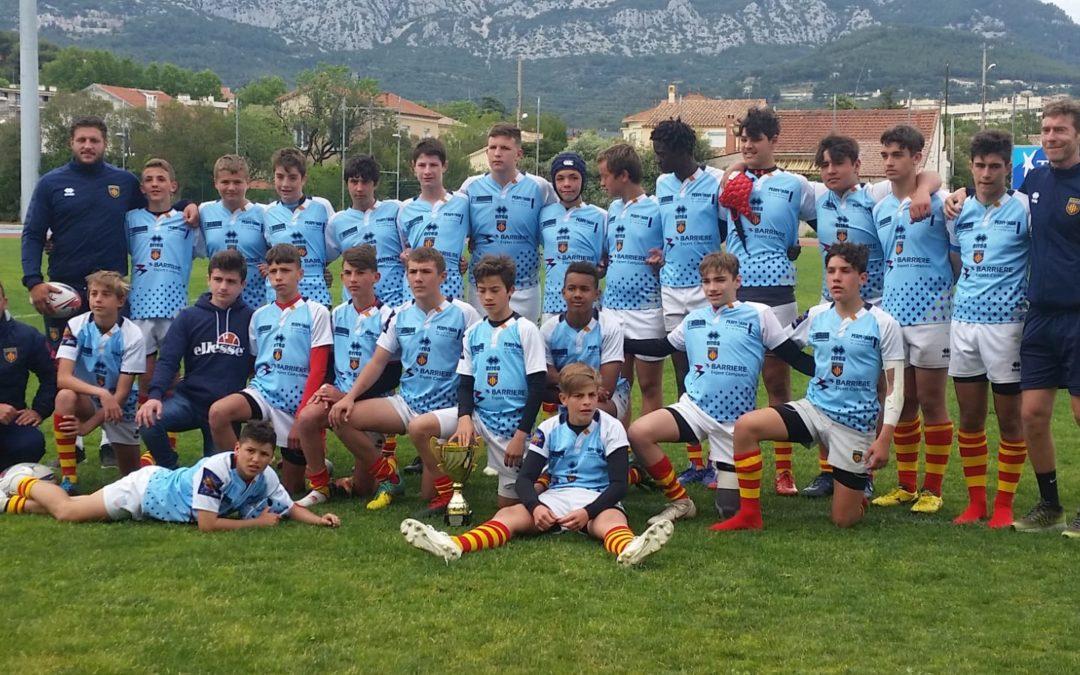 LES MINIMES QUALIFIES POUR LE TOURNOI FINALE DU SCF 2019