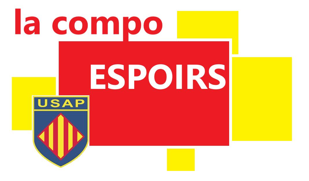 ESPOIRS : LA COMPO POUR USAP vs CA BRIVE