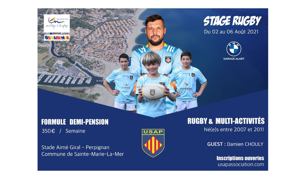 STAGE RUGBY ETE 2021
