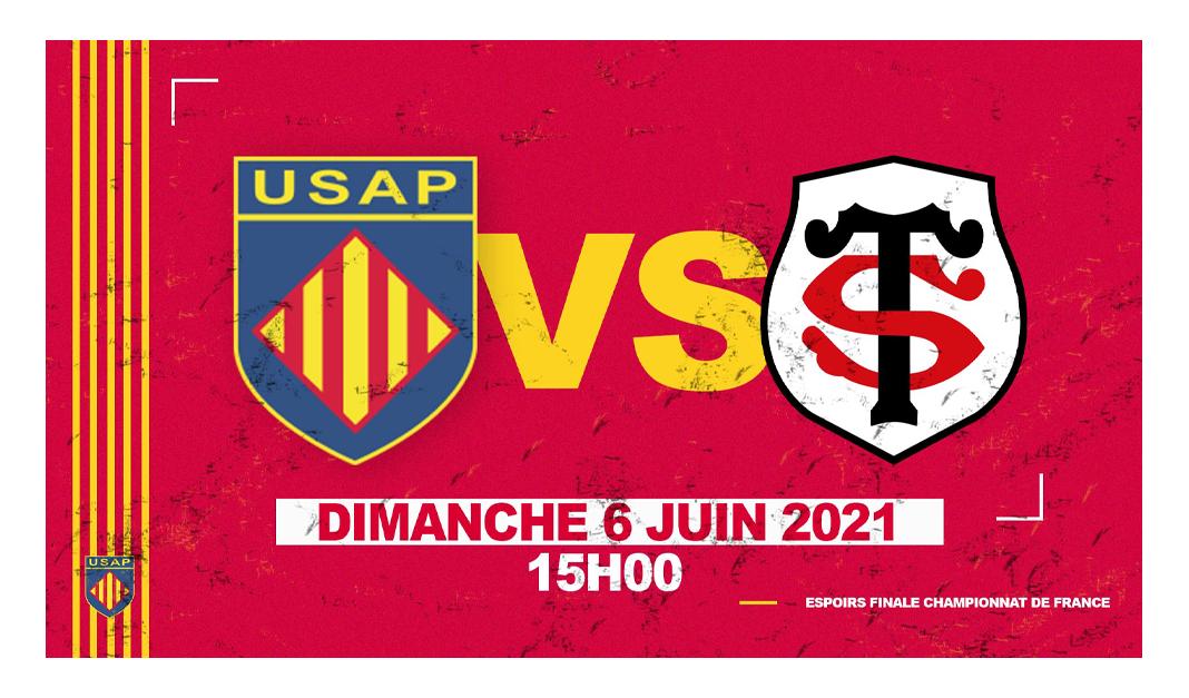 Espoirs : Finale USAP vs Stade Toulousain